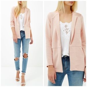 River Island Pale Pink Blazer